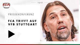 18/19 // Pressekonferenz Vor Stuttgart // Martin Schmidt