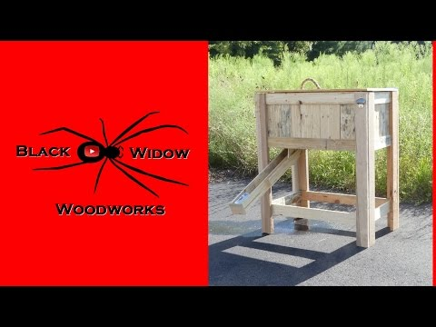 🕷 Beer Dispensing Rustic Cooler Box / Pallet Upcycle Challenge