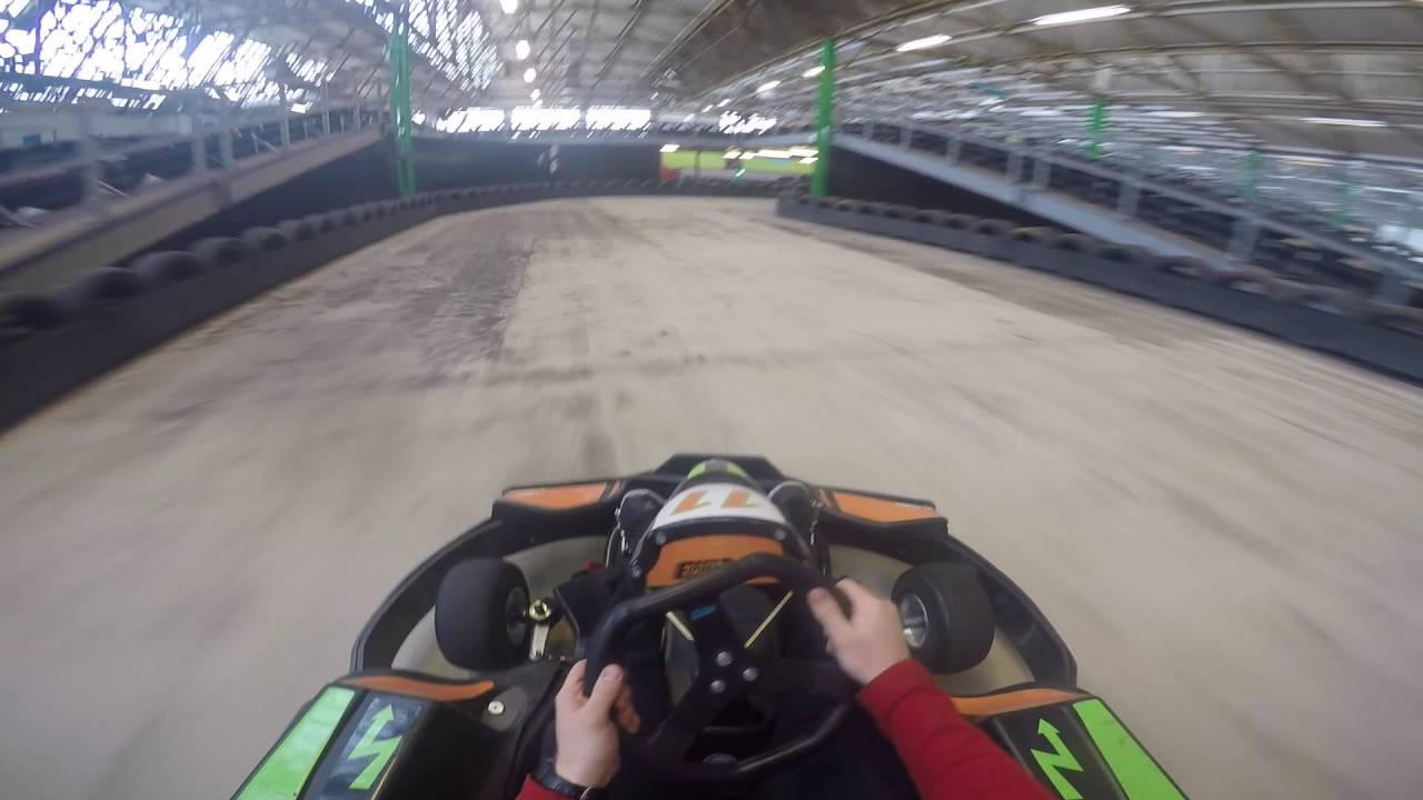 Our Go Karts and Track - Emission Free Electric Go Karting