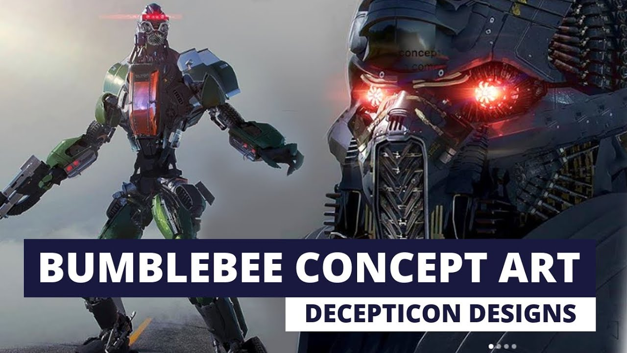 Bumblebee Movie Concept Art Decepticons Alternate Blitzwing Design