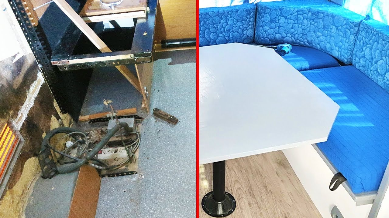 Como restaurar una caravana reformar una mini casa en - Mini clasico para restaurar ...