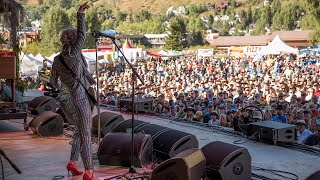 "Samantha Fish - ""Watch It Die"" & ""Love Letters"" Live At Telluride Blues & Brews Festival"