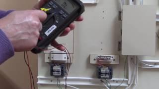 Test 1 d'un detecteur magnetique hors tension