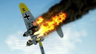 IL-2 Sturmovik Battle Of Stalingrad Crashes Compilation #5 1440p