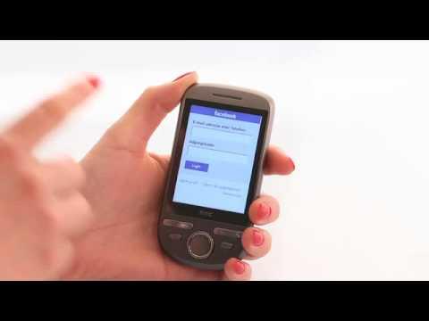 HTC Tattoo - opsætning af Facebook
