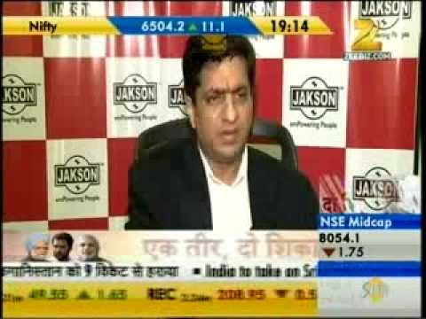 Jakson solar power plant in Bap, Rajasthan featured on Zee Business