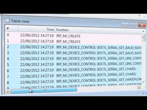 Serial Port Monitor: analyze serial port activity