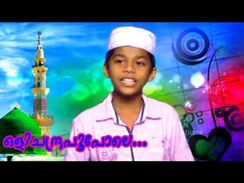 ഒളിച്ചന്ദ്ര പൂ പോലെ... | Mappila Album Song | Muslim Devotional Songs Malayalam