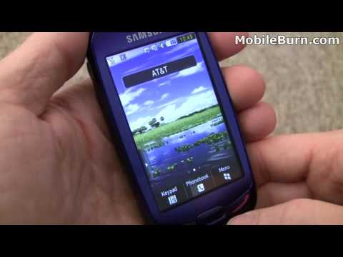 Samsung S7550 Blue Earth solar phone - part 1 of 2