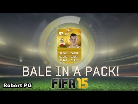 Gareth Bale in a pack | Reacción de LOCOS Papi | Fifa 15 Ultimate Team Pack opening