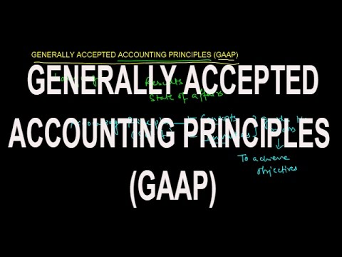 GENERALLY ACCEPTED ACCOUNTING PRINCIPLES (GAAP) | Meaning and Need