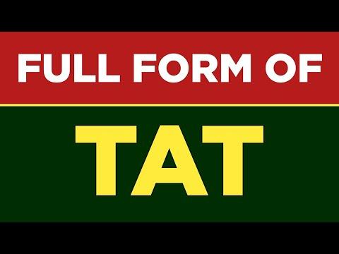Full form of TAT | TAT ka full form kya hai | TAT full form | Free Learn University