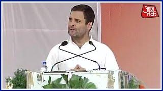Demonetisation is 'Modi-made disaster': Rahul Gandhi in Belgaum