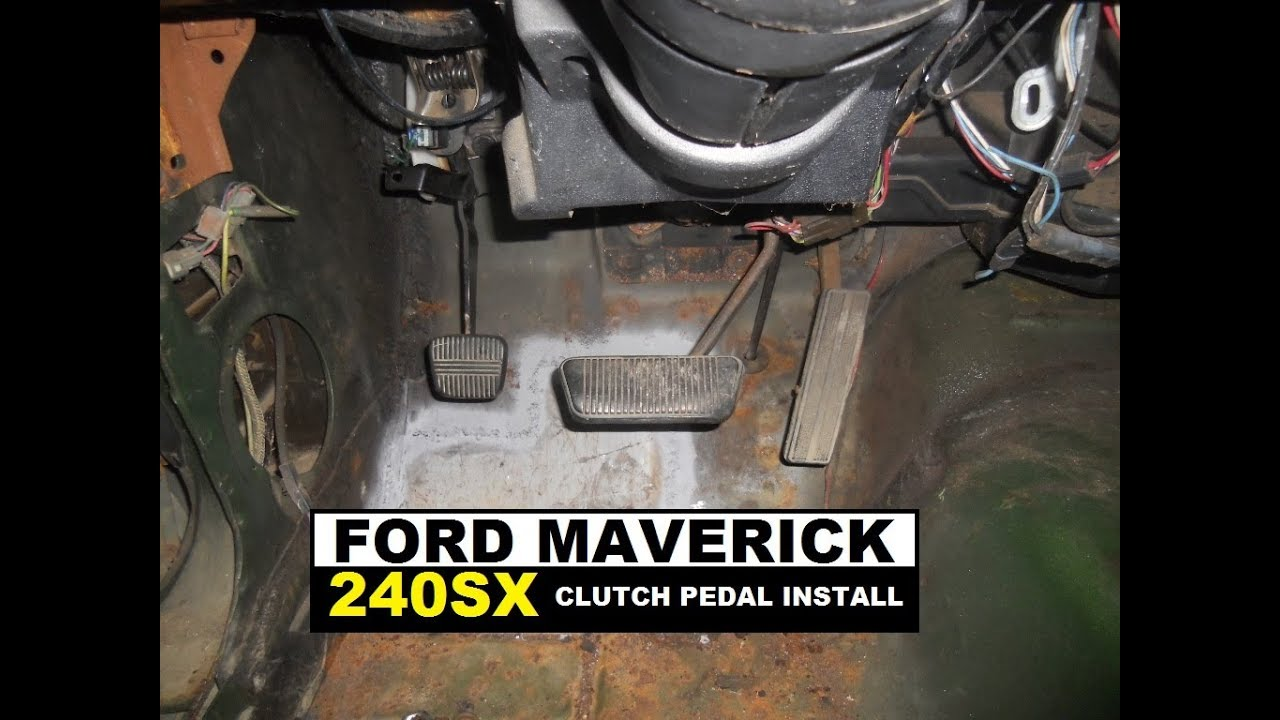 Ford Maverick Hydraulic Clutch Pedal Install Youtube
