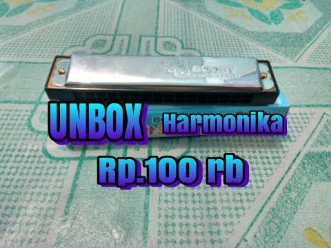 Unboxing:Booby harmonika murah 16/do=C