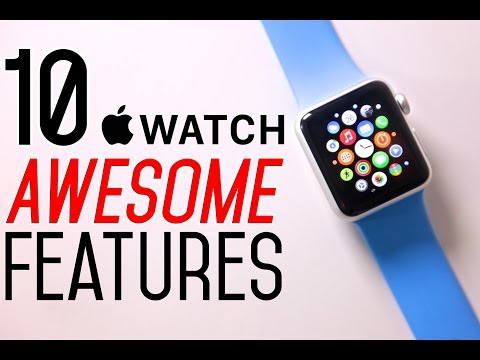 Apple Watch  10 Awesome Features!