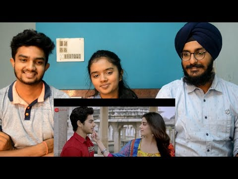 Dhadak title song REACTION ft thebrowndaughter | Ishaan & Janhvi | Ajay Gogavale & Shreya Ghoshal