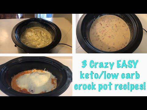3 Crazy Easy Keto/low Carb Crock Pot Recipes| Crock Pot Comfort Food