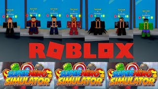 KEKUATAN COSTUME SUPERHERO - Roblox Superhero Simulator - [Indonesia]