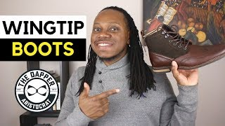 How to Style Wingtip Boots For Men