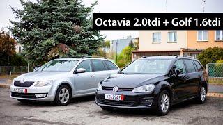 Обзор VW Golf 7 Lounge и Skoda Octavia Combi Elegance из Германии