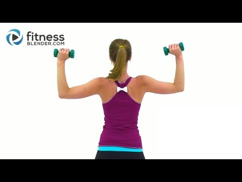 Tank Top Arms Workout – Shoulders, Arms & Upper Back Workout