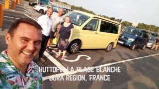Huttopia La Plage Blanche - Jura, France