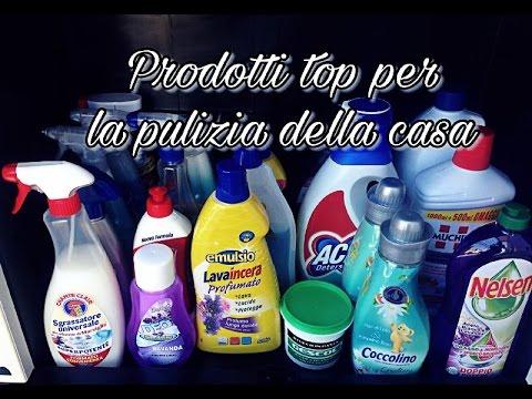 Prodotti top per la pulizia della casa youtube - Prodotti per pulire casa ...