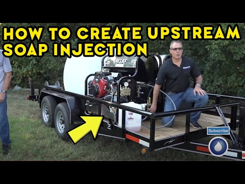 How To Create Upstream Soap Injection For High Pressure Power Washing