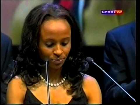 ethiopian shows meseret defar on seifu fantahun show