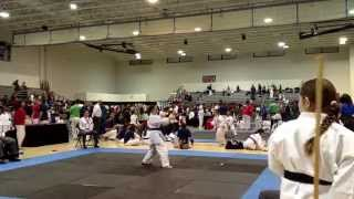 Arwen's Gold for Kobudo (AAU Ft. Pierce)
