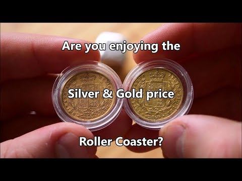 Are you enjoying the Silver & Gold price roller coaster!?