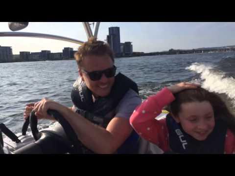 Boating Fun on Cardiff Bay