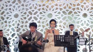 Voyage Entertainment ft. Bride and Groom - I Wish you love (cover)