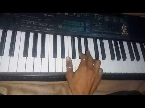 Gujarati garba piano aavo to ramvane maa garbe ghumvane rajusoni chitrod