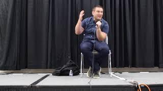 Bryce Papenbrook Q&A panel Anime Getaway St. Louis