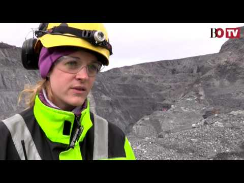 In Norway's mines, women are a rare resource