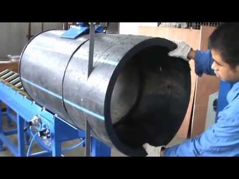 PE Pipe Cutting Machine/cortador De Tubo De Plástico/пластиковые труборез.mpg