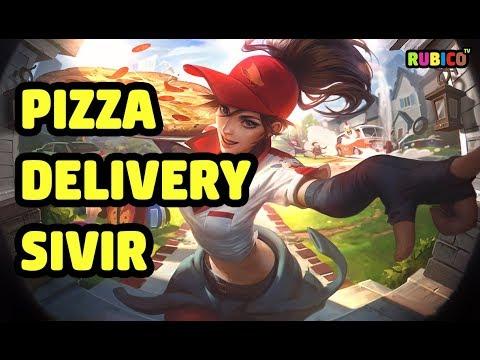 Pizza Delivery Sivir Skin Spotlight
