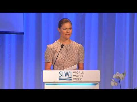 Crown Princess Victoria speech at World Water Week 2016