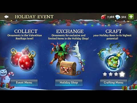 Dungeon Hunter 5 Holiday Event: Valenthian Rooftops
