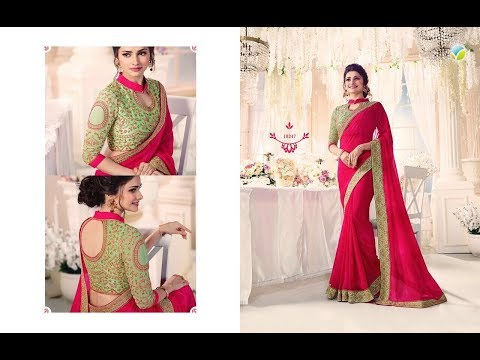 Buy Online Dress - Modern New Arrivals Fashionable party wear saree designs