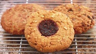 Baixar GIANT Single-Serving Cookies (Oatmeal, Snickerdoodle, & Peanut Butter) - Bigger Bolder Baking Ep  89