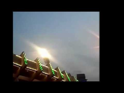 Mysterious Bright Objects over the Jinan Olympic Sports Center Stadium, China