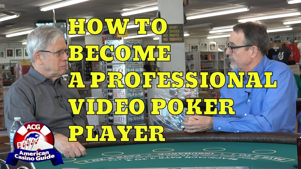 Professional Video Poker Player