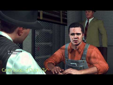 L.A. Noire: Perfect Interrogation - James Tiernan at Central Station [Secretary Murder Case]