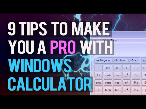 9 Tips to Make You a Windows Calculator PRO