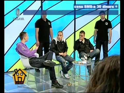 NAPOLEON - AIR MOB & DIABLITO - LUDA KUCA (TV KOSAVA) 7.PART 2010