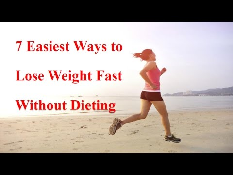 7 Easiest Ways to Lose Weight Fast Without Dieting – Proven Tips