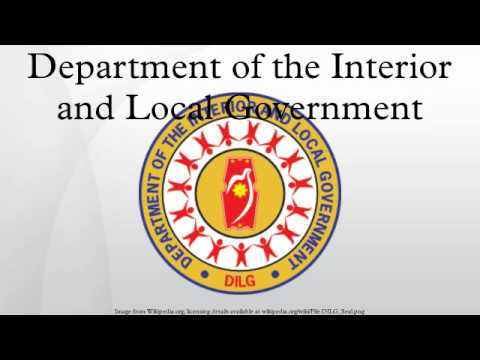 Department Of The Interior And Local Government Youtube
